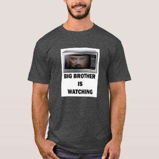 O big brother está olhando o t-shirt camiseta