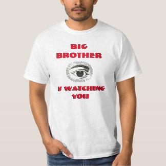 O BIG BROTHER ESTÁ OLHANDO-O t-shirt Camiseta