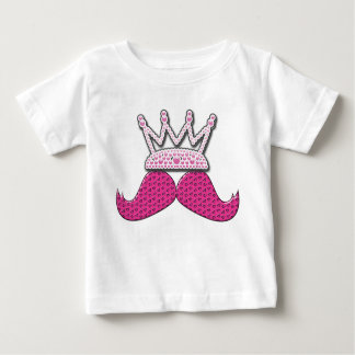 O bigode cor-de-rosa bonito impresso peroliza a t-shirts