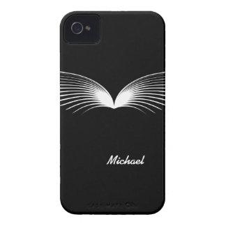 O bigode engraçado voa a caixa corajosa de capas para iPhone 4 Case-Mate