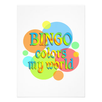O Bingo colore meu mundo