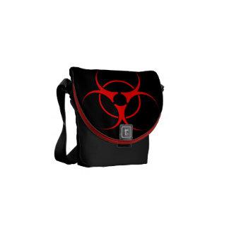 O Bio-Perigo ensaca o Biohazard NENHUMAS bolsas me Bolsa Mensageiro
