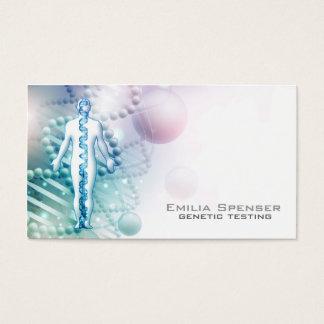 O Biomedical projeta o cartão de visita