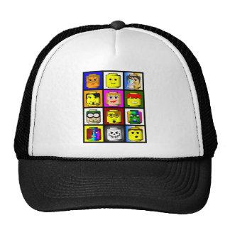 O bloco de apartamentos dirige o chapéu boné