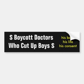 O boicote medica Acima Menino de Que Corte Adesivo Para Carro