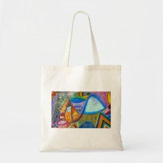 O bolsa abstrato
