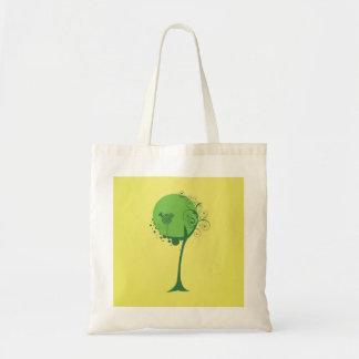 O bolsa abstrato do orçamento da árvore