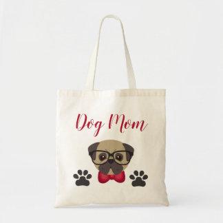 O bolsa adorável da mamã do cão com Bowtie &