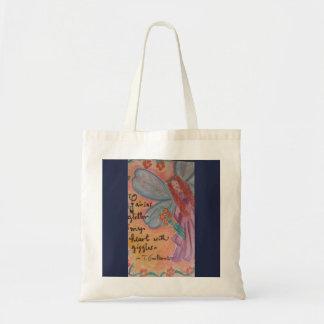 o bolsa adorável para uma menina