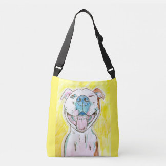 O bolsa amarelo ensolarado feliz brilhante de Bull