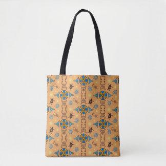 O bolsa animal dos símbolos da água de Taino