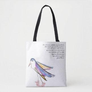 O bolsa artística do pássaro