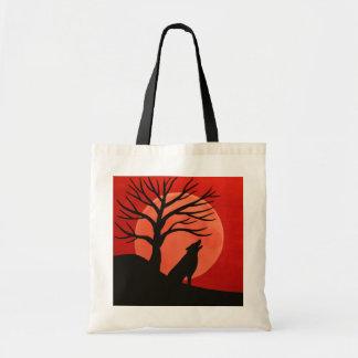 O bolsa assustador do orçamento da árvore & do