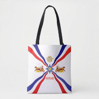 O bolsa Assyrian da bandeira
