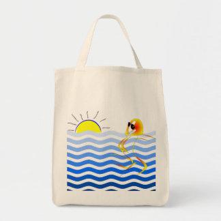 O bolsa astuto da praia