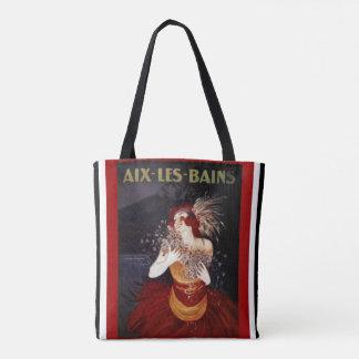 O bolsa auxiliar do art deco de Les Bains
