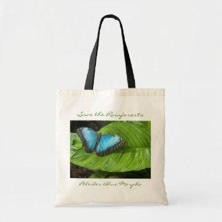 O bolsa azul da borboleta de Morpho