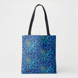 O bolsa azul do floco de neve de Lillien