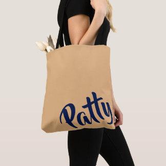 O bolsa Bag=Camel/Navy do RISSOL de Personalizable