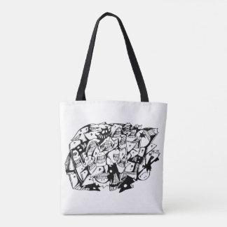 O bolsa Bag_Shape do Doodle de você