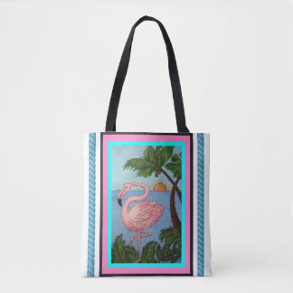 O bolsa Bage do paraíso do flamingo