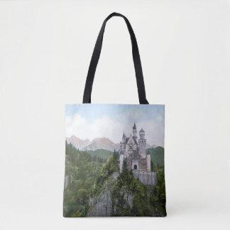 O bolsa bávaro de Neuschwanstein do castelo