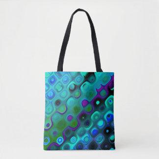 O bolsa bonito com explosão de cor abstrata