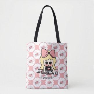 O bolsa bonito da menina do planejador