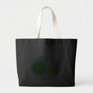 O bolsa bonito do jumbo dos gatos