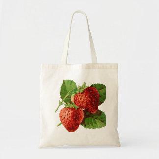 O bolsa bonito do orçamento da fruta da morango