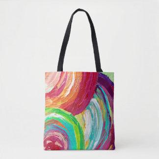 O bolsa bonito do saco de bolsa do arco-íris