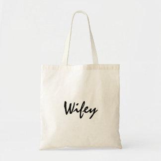 O bolsa bonito do wifey para a lua de mel ou o