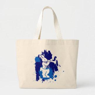 O bolsa branco do jumbo do coelho de Wareham