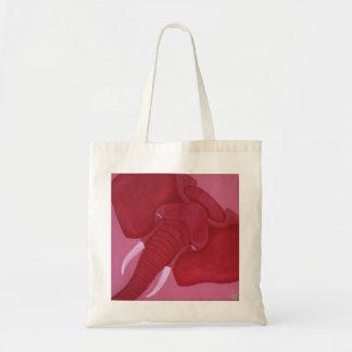 O bolsa carmesim do elefante