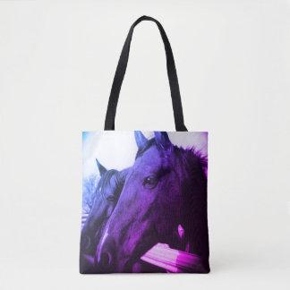 O bolsa - cavalo roxo