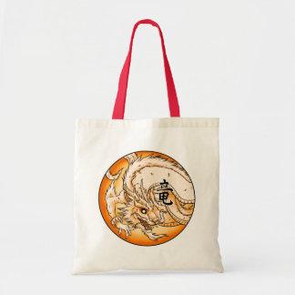 O bolsa chinês do orçamento do dragão