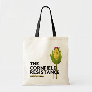 O bolsa (claro) - a resistência do campo de milho