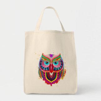 O bolsa colorido bonito do mantimento da coruja