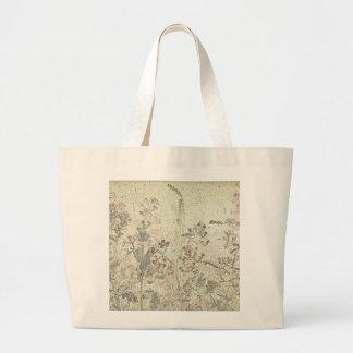 O bolsa com as flores do fim do verão