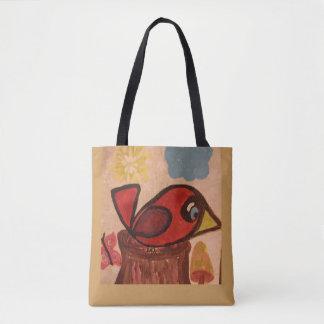 O bolsa com cardeal
