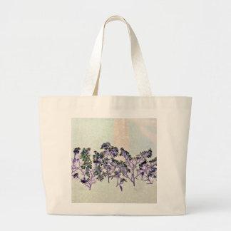 O bolsa com design floral
