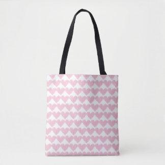 O bolsa cor-de-rosa bonito do coração