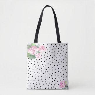O bolsa cor-de-rosa bonito dos rosas da aguarela