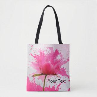O bolsa cor-de-rosa de espirro bonito