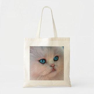 O bolsa cor-de-rosa do desenho do gatinho
