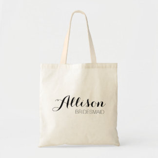O bolsa customizável da dama de honra