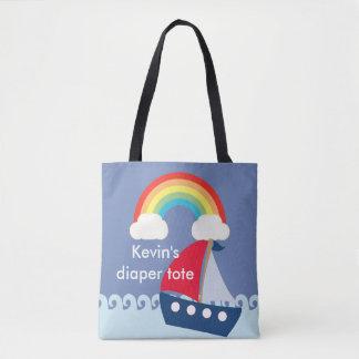 O bolsa customizável da fralda, saco da fralda com