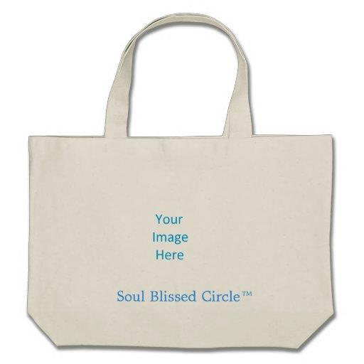 O bolsa customizável do círculo de Blissed da alma