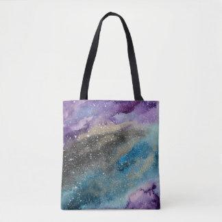 O bolsa da aguarela do espaço da galáxia