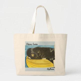 o bolsa da arte do smokey do sono